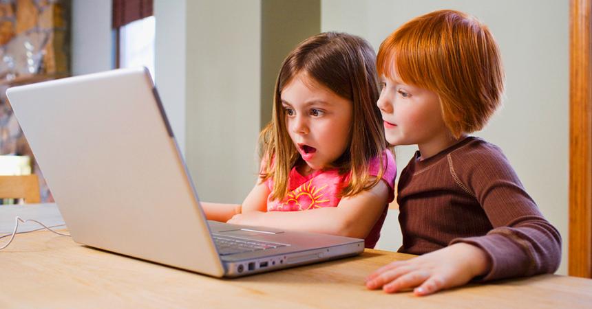 internet and children