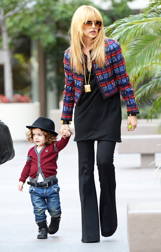Rachel Zoe and Skyler have a playdate at Kitson Kids. Pictured: Rachel Zoe and Skyler Berman Ref: SPL517277  270313   Picture by: All Access Photo / Splash News Splash News and Pictures Los Angeles:310-821-2666 New York:212-619-2666 London:870-934-2666 photodesk@splashnews.com