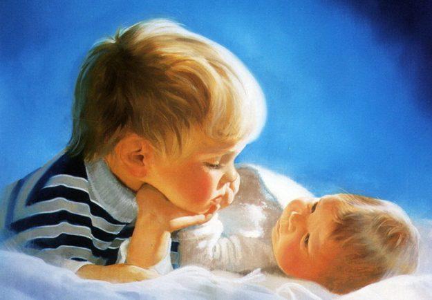 даже Два маленьких ребенка как справляться наших первобытных