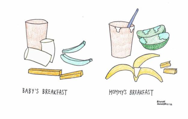 Супермама: 14 веселых иллюстраций о нелегкой жизни мам