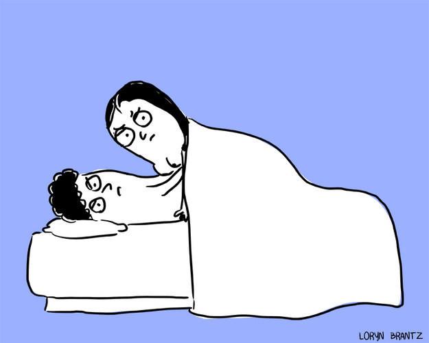 Секс и брак: 10 смешных, но правдивых иллюстраций