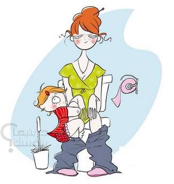 13 веселых иллюстраций о нелегкой жизни всех мам