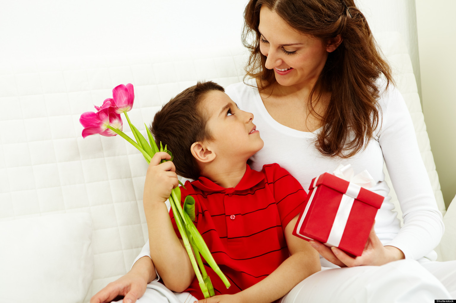 Подарок маме своими руками может 1
