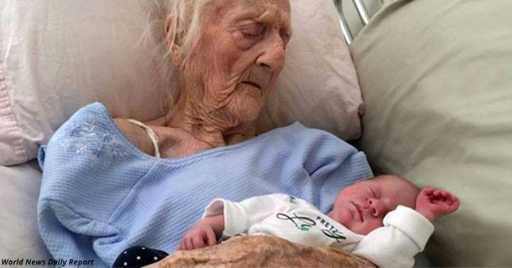 Невероятная женщина: 101-летняя мама родила здорового младенца!