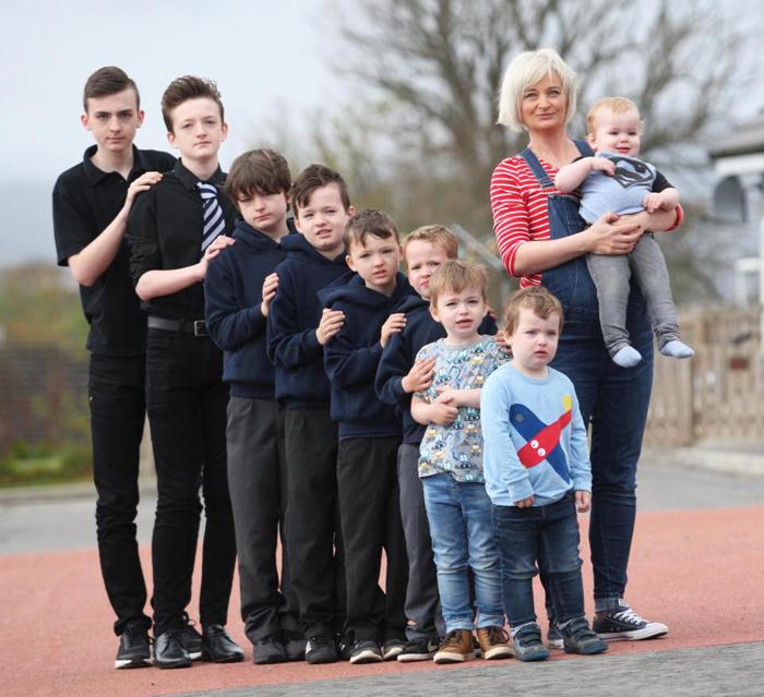 Снова беременна: мама 9-ти сыновей ждет десятого мальчика