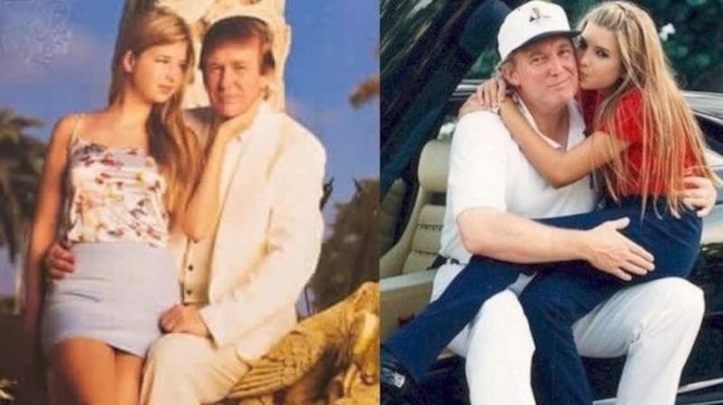 Дональд и Иванка Трамп Семейные фото, дочери, звезды, знаменитости, неловкий момент, отцы и дети, папы, фото