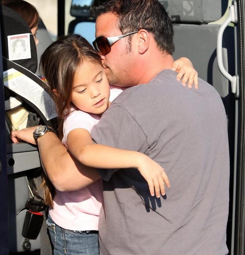 Джон Госселин и его дочь Семейные фото, дочери, звезды, знаменитости, неловкий момент, отцы и дети, папы, фото