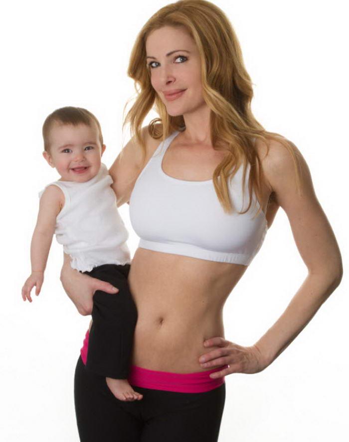 Фитнес-мама: 4 шага, чтобы вернуть фигуру после родов