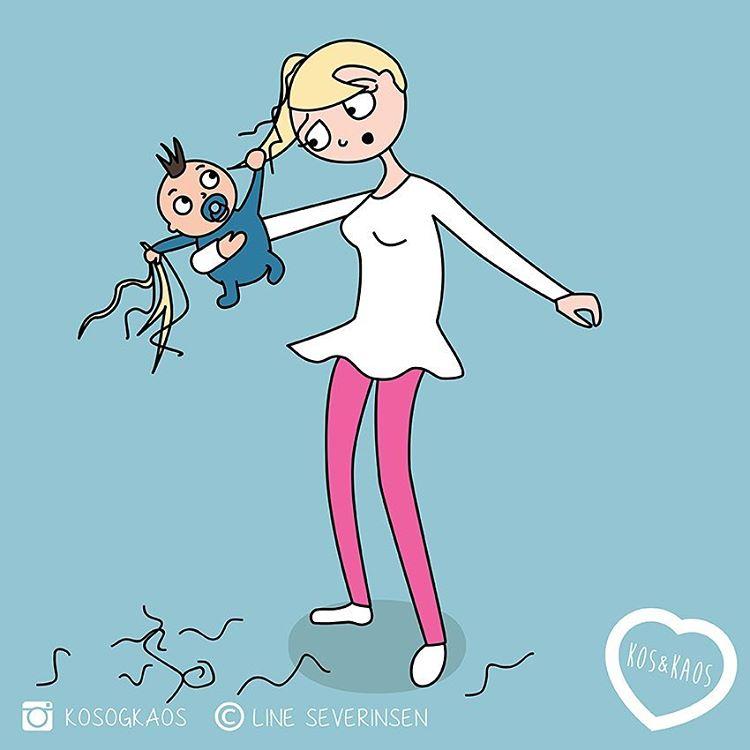 Беременность и Материнство: 20 смешных ситуаций из жизни мамы