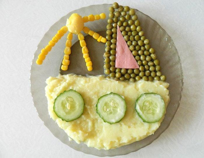 Как накормить нехочуху: 10 забавных идей для подачи детских блюд
