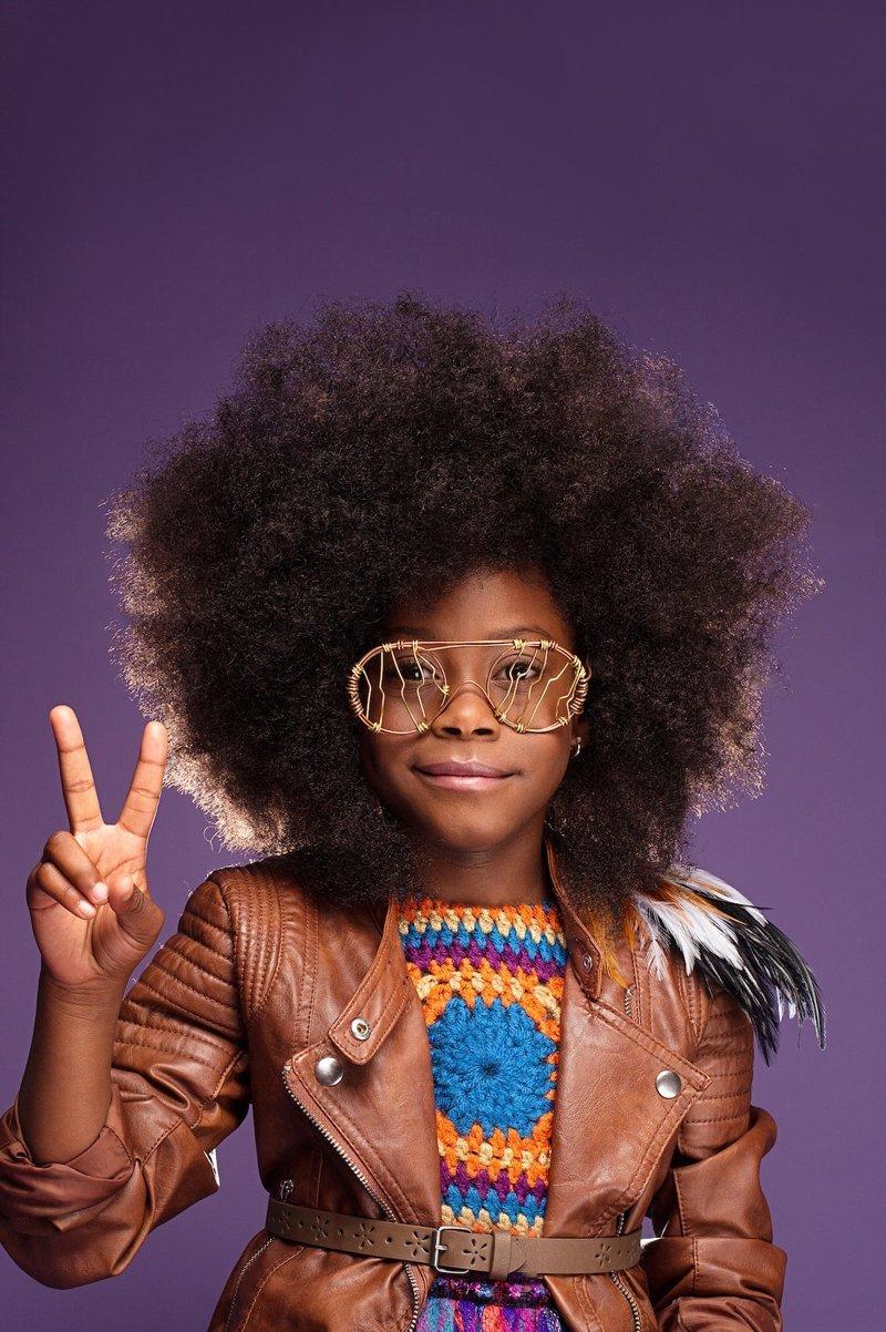 Afro Art: 16 афро-девочек, которые поражают своей красотой