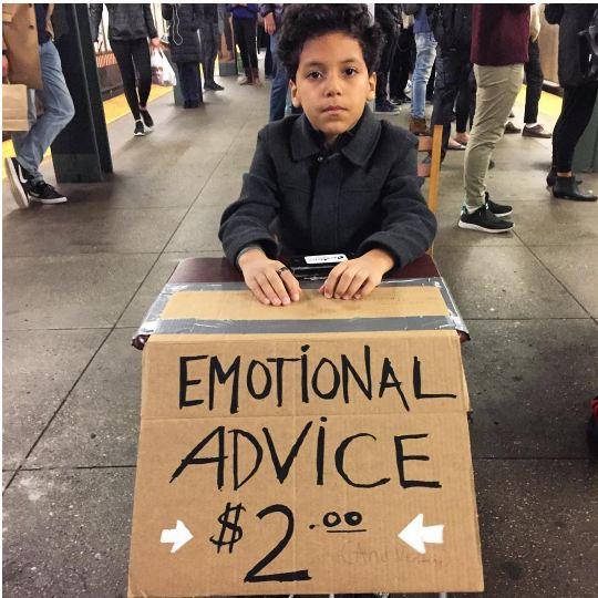 Психотерапевт за 2$: как 11–летний школьник спасает души?