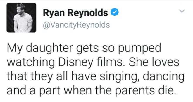 Райан Рейнольдс о дочерях: 20 трогательных и смешных твитов