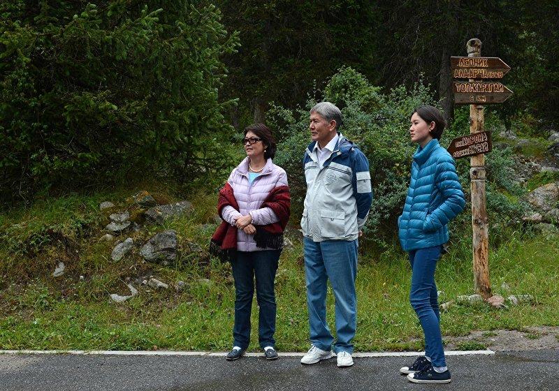 Имеем право: дочь президента Киргизии выступила за ГВ на людях