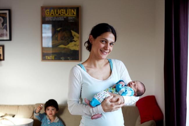 One Day Young: 21 фото мамыс младенцем в первые 24 часа его жизни