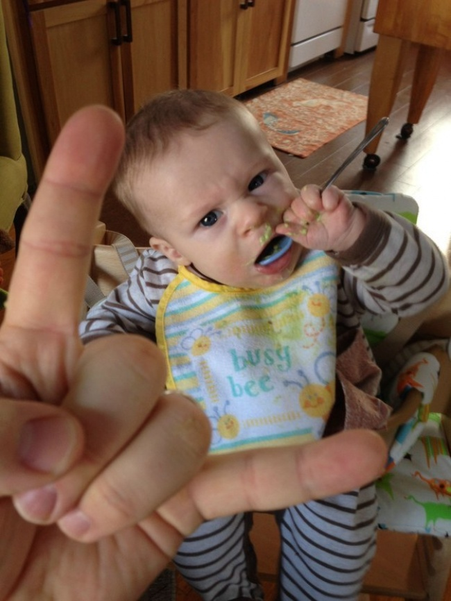 Отцовство в стиле Хардкор: 16 фото из жизни креативного папочки