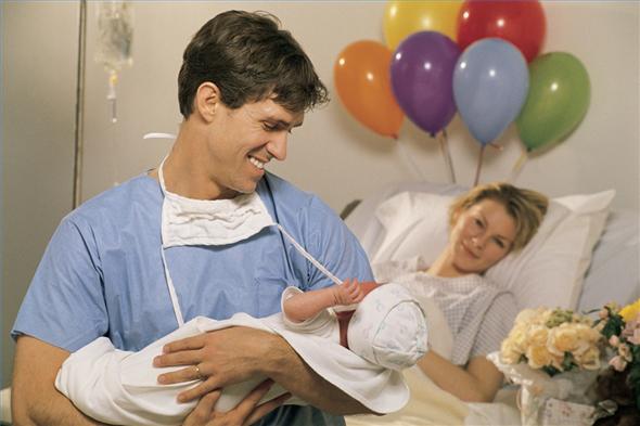 Горячая точка: 15 забавных реплик мужчин во время родов