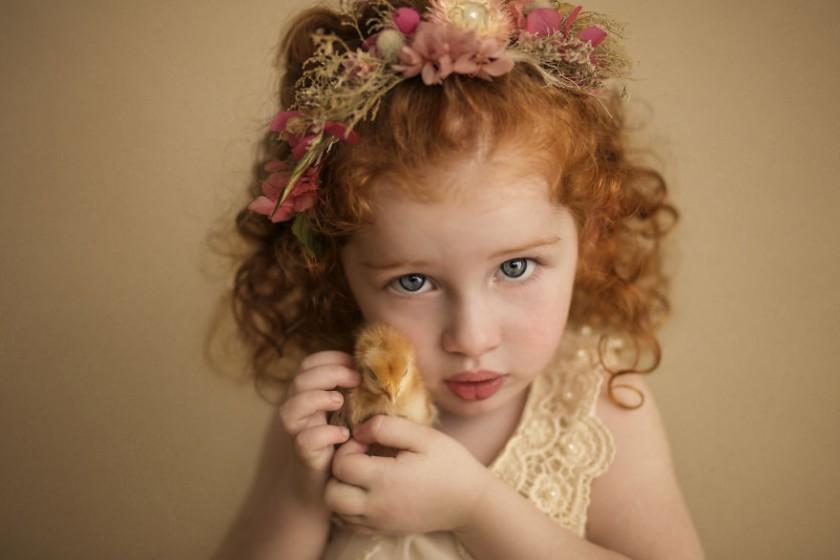 Фото-проект о девочке, родившейся после 4 выкидышей, - Радужный Ребенок