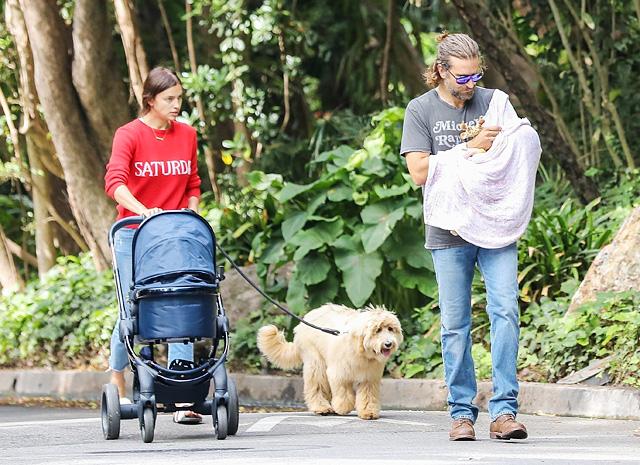 Уже за вторым: Ирина Шейк и Брэдли Купер снова планируют малыша