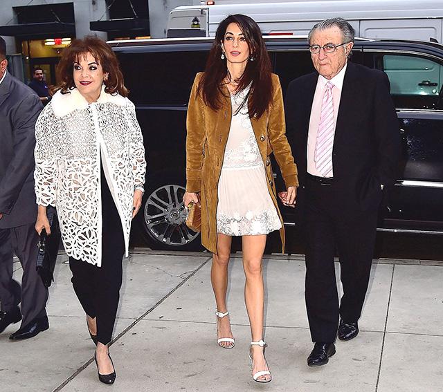 Звезда в панике: Амаль Клуни не может похудеть после родовg