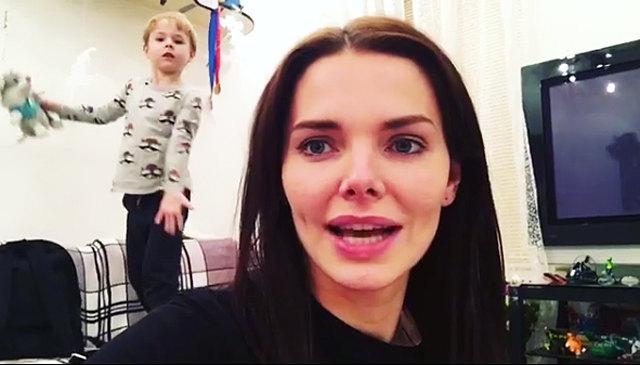 Благая цель: Лиза Боярская впервые показала 5-летнего сына