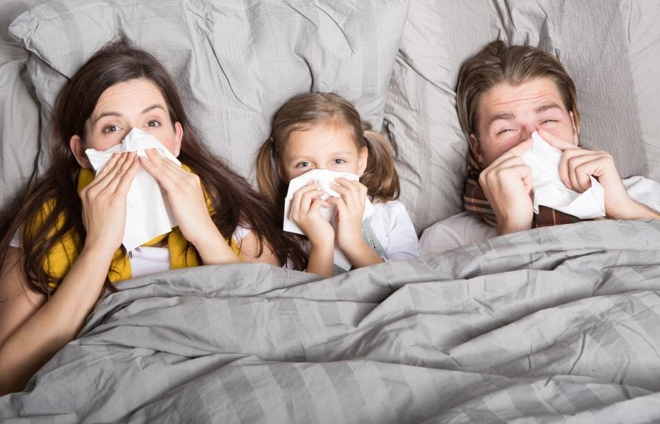 В квартире больной: 4 способа, как защитить ребенка от ОРВИ