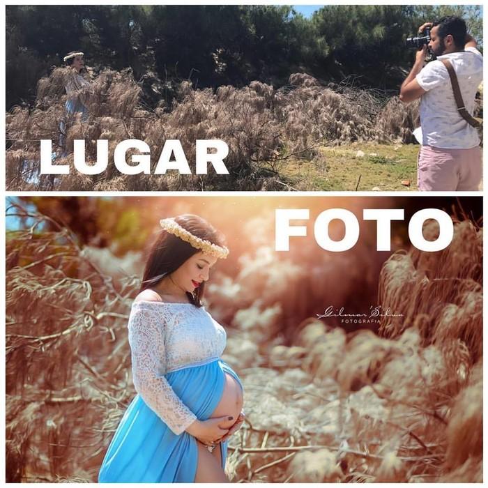 Без фотошопа: как на самом деле проходят фотосессии беременных?
