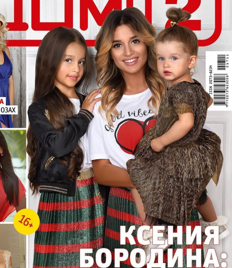 К. Бородина зарабатывает на дочках в Instagram