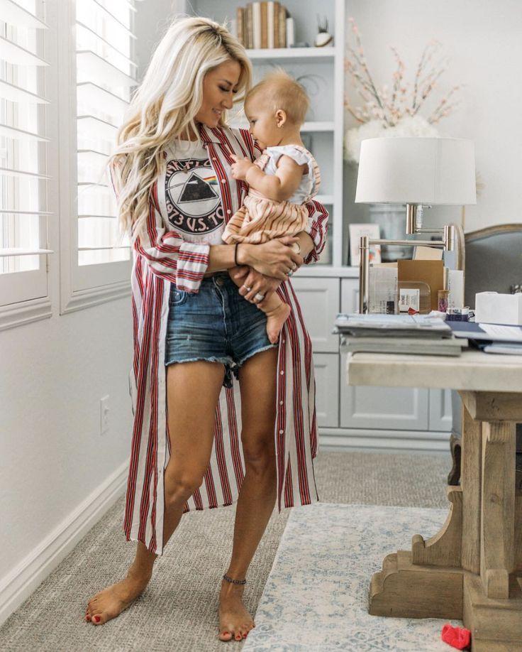 фитнес-блогер выложила фото живота после 2-х родов