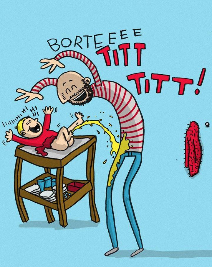 Папой быть непросто: 10 точных иллюстраций об отцовских буднях