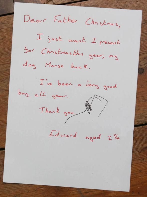 Верните Морса домой: письмо мальчика Деду Морозу растрогало соцсети