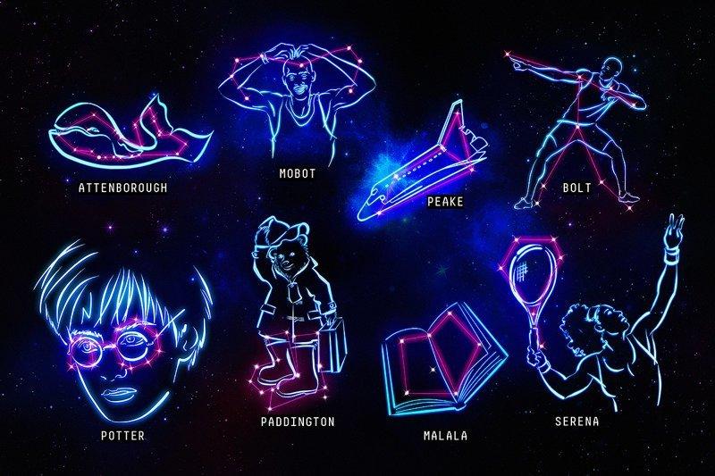 Как заинтересовать детей звездами: 9 новых созвездий, придуманные учеными