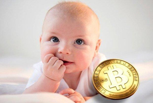 Спасибо криптовалюте!: в Симферополе папа назвал сына Биткоин