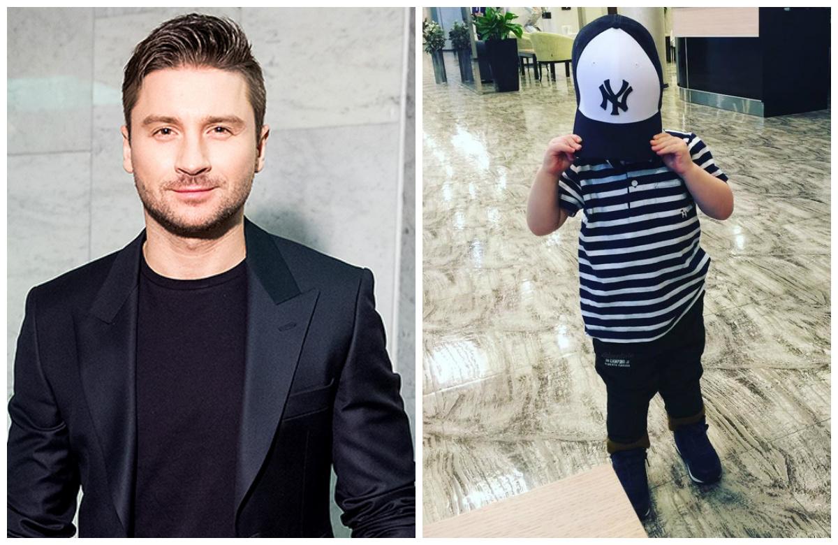 Сергей Лазарев показал 3-летнего сына Никиту
