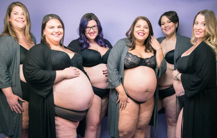 Полнота — не помеха для счастья: CafeMom запустил проект о Plus-Size беременных