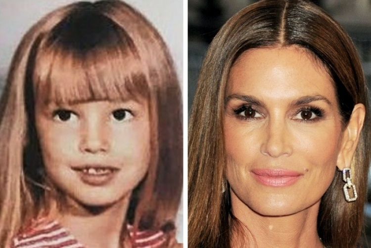 В детстве и сегодня: 20 знаменитых женщин, чью внешность считают идеальной