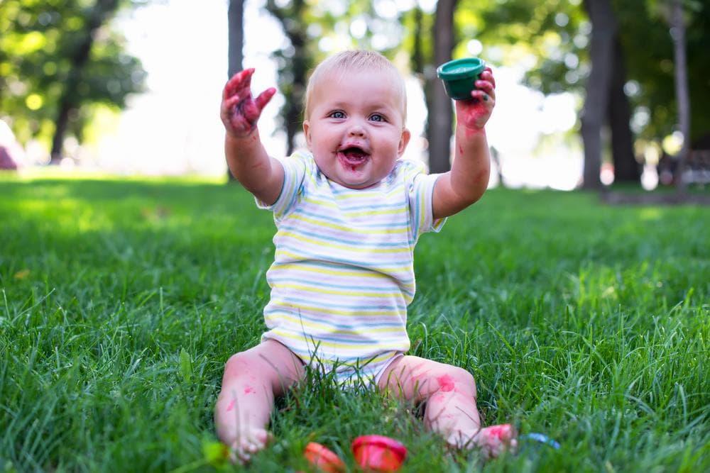 5 вещей, которые должен уметь малыш до одного года