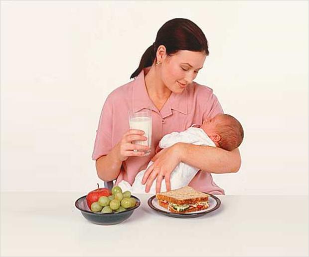 Питание беременной и кормящей матери 89