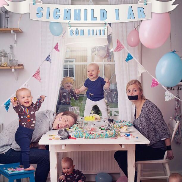 Красим и летаем: папа-фотограф из Швеции делает необычные фото дочки