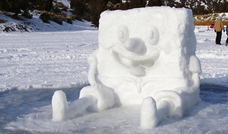Зима — это весело: 8 крутых идей снежных забав для детишек
