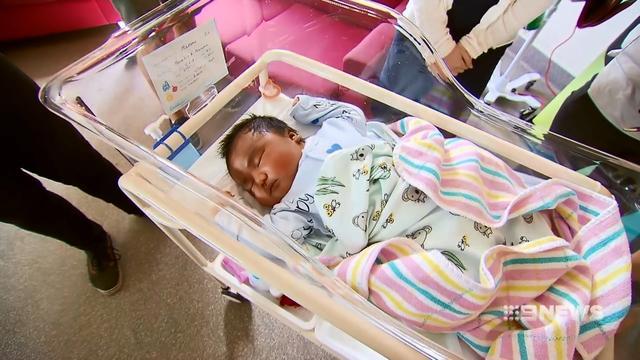 Богатырь!: мама из Австралии родила мальчика весом в 6,3 кг