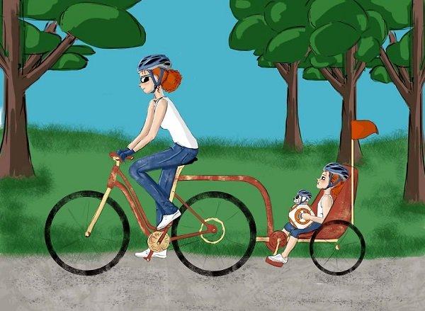 Как это — воспитывать дочку: 6 трогательных иллюстраций