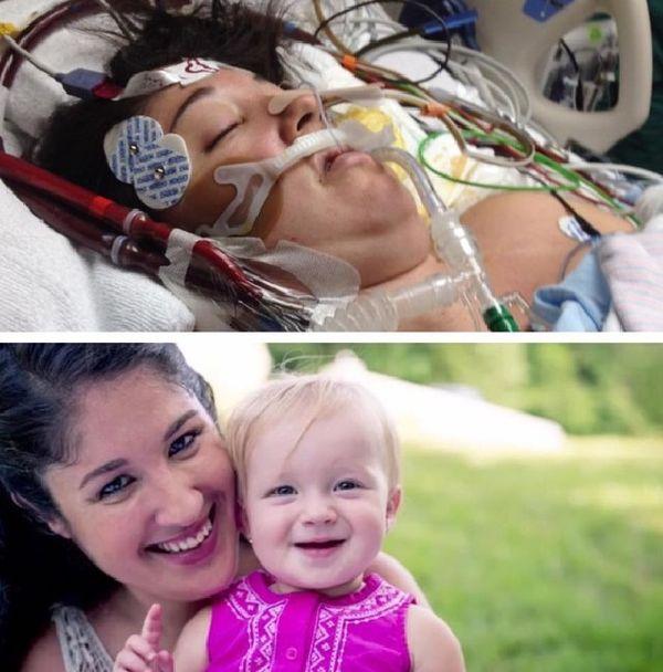 Это чудо: новорожденная малышка вернула свою маму — к жизни