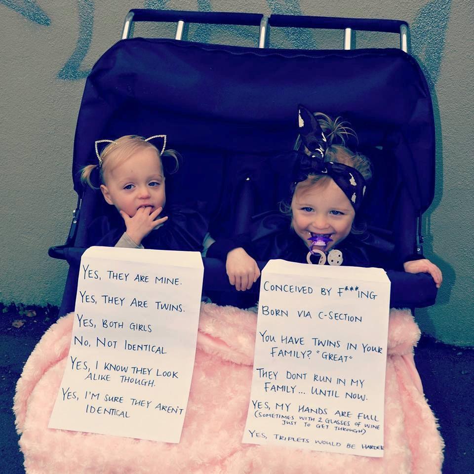 Достали!: мама близняшек ответила на все надоедливые вопросы — в одном фото
