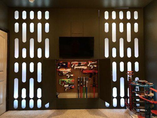 Да пребудет с тобой Сила: родители сделали детскую в стиле Star Wars