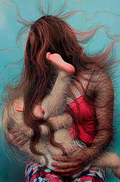 В США открылась выставка на тему грудного вскармливания