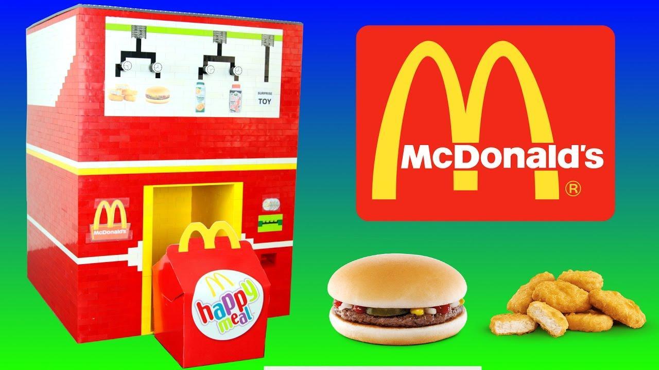 Бой лишним калориям: McDonalds сделает детское меню более здоровым