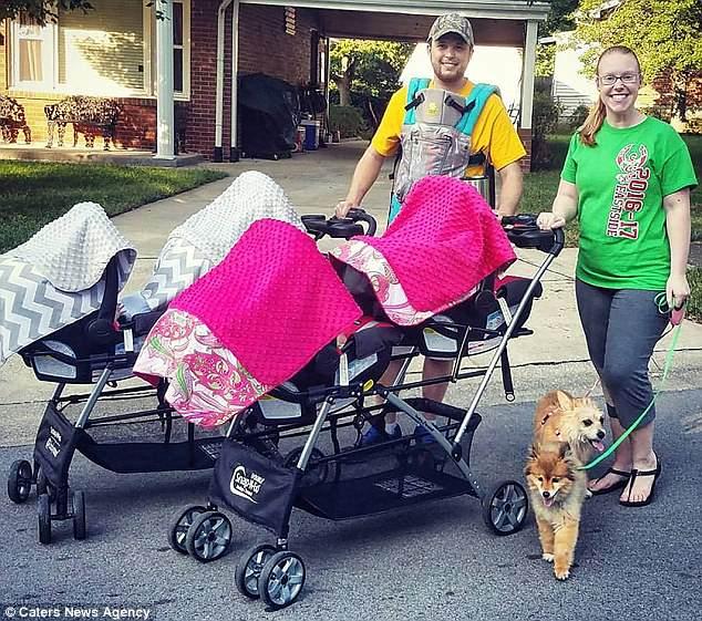 Мама пятерняшек рассказала, как проходит ее безумный день с детьми