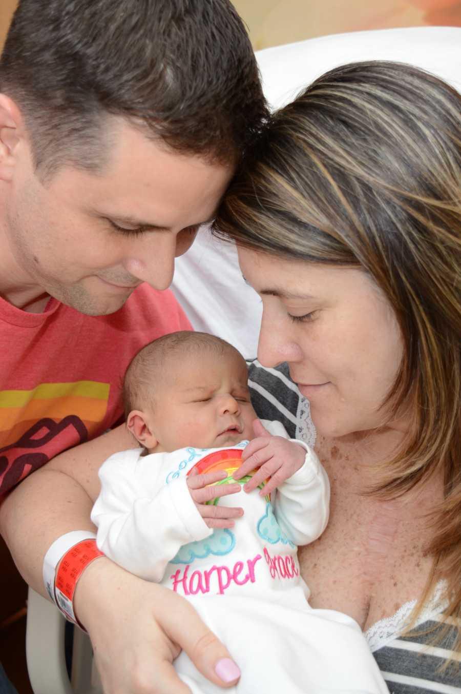 Женщина из США стала мамой после 5 выкидышей и 15 лет борьбы
