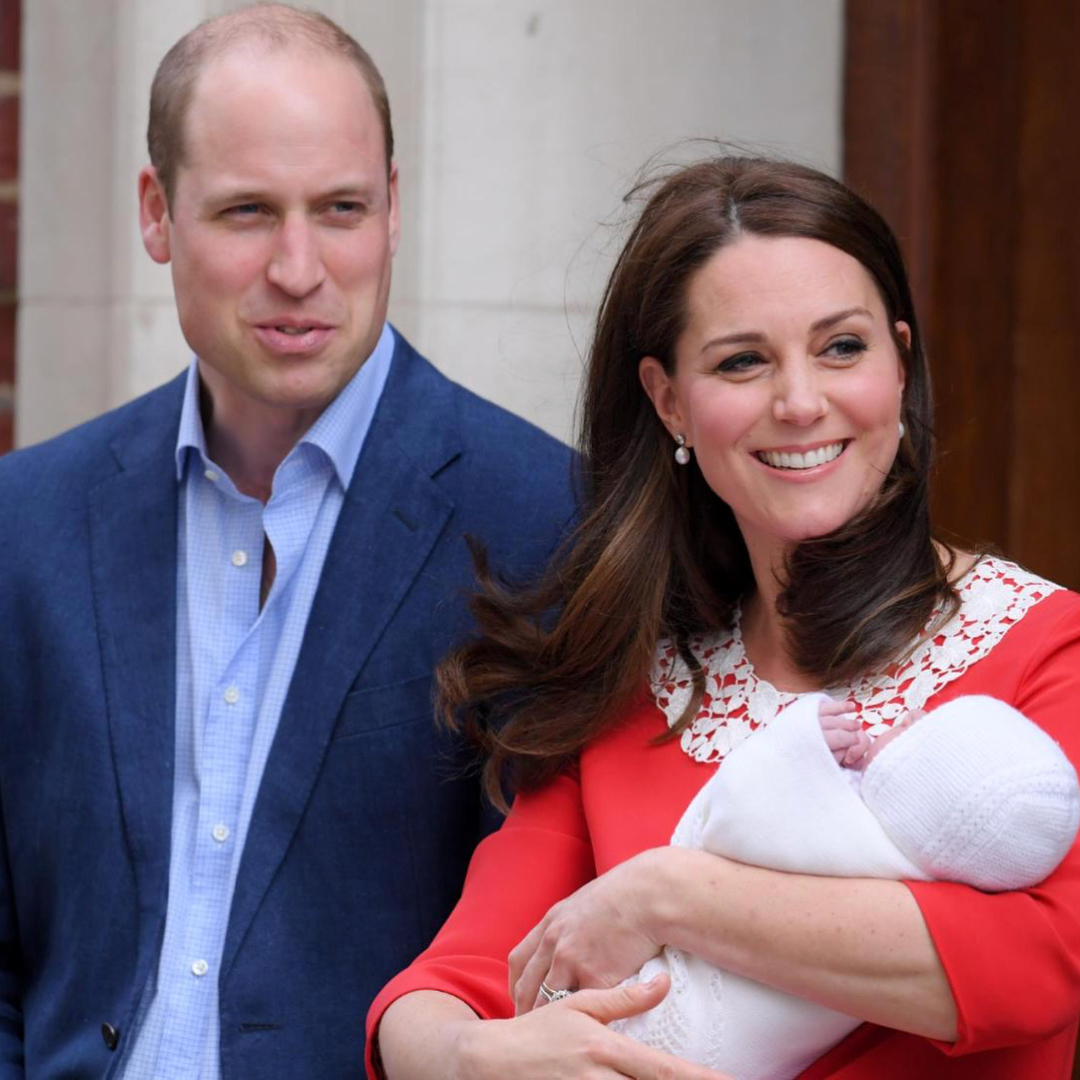 Кейт Миддлтон наконец-то родила 3-го ребенка. Есть первые фото сына!